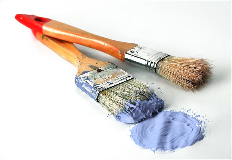 Mantenimiento de brochas y pinceles uniher - Brochas pintura ...